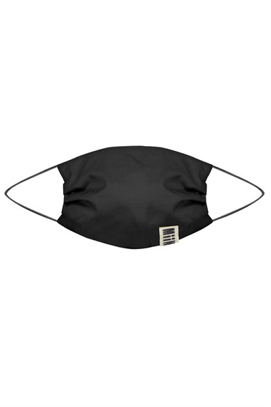 MiiN Black 100% Cotton Filter Design Mask